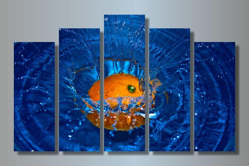 Модульная картина Сочный взрыв