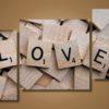 Модульная картина Любовь