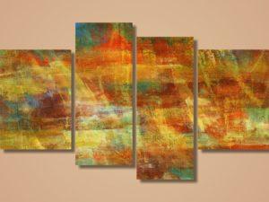 Модульная картина Игра красок