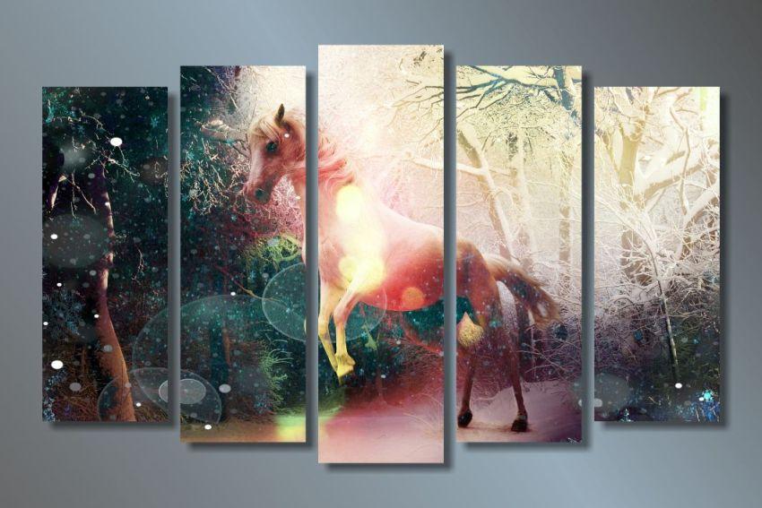 Модульная картина Цветной сон