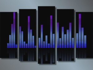 Модульная картина Ритм
