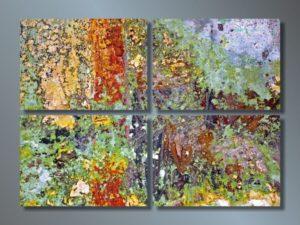 Модульная картина Буйства красок