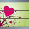 Модульная картина Романтичное настроение
