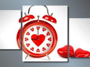 Модульная картина Время любви
