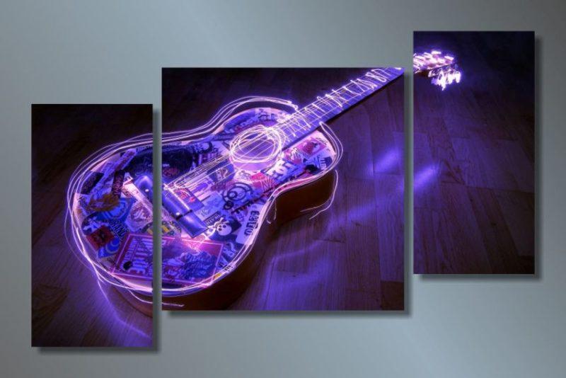 А-039 Неоновая гитара