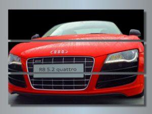 Модульная картина Красный Audi