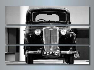 Модульная картина Авто классика