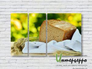 Модульная картина Ароматный хлеб