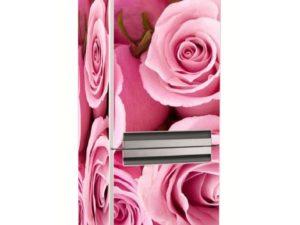 Наклейка на холодильник Элегантные розы