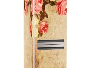 Наклейка на холодильник Мелодия роз