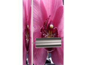 Наклейка на холодильник Прекрасная орхидея