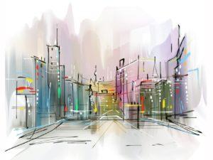 Фотообои Городская архитектура