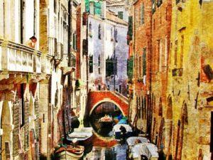 Фотообои Городские каналы