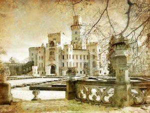 Фотообои Величественный замок