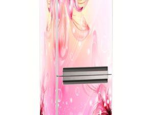 Наклейка на холодильник Нежные цветы