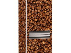 Наклейка на холодильник Кофе в зернах