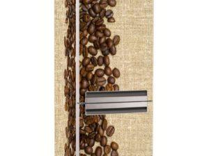 Наклейка на холодильник Зерна кофе