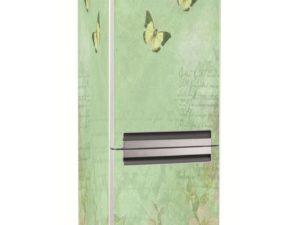 Наклейка на холодильник Винтажный мотив