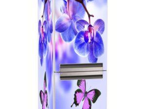 Наклейка на холодильник Нежные соцветия