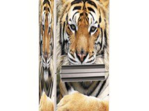 Наклейка на холодильник Красавец тигр