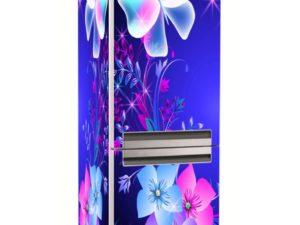 Наклейка на холодильник Ночные бабочки