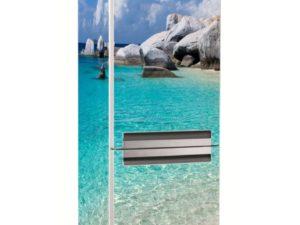 Наклейка на холодильник Камни у моря