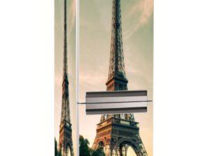 Наклейка на холодильник Эйфелева башня