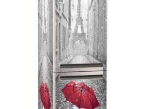 Наклейка на холодильник Романтичный Париж
