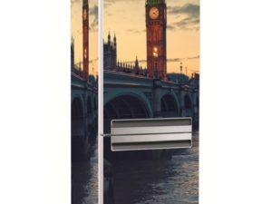 Наклейка на холодильник Лондонский Биг Бен