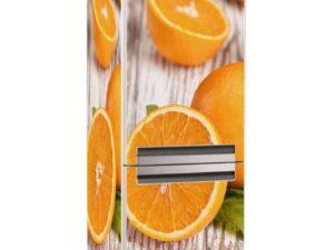 Наклейка на холодильник Свежие апельсины