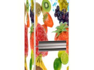 Наклейка на холодильник Разнообразие вкусов