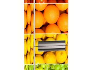 Наклейка на холодильник Набор витаминов