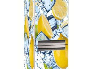 Наклейка на холодильник Бодрящий лимон