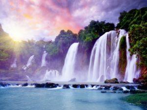 Фотообои Водопады FNV-002