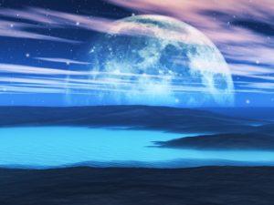 3D Фотообои Загадочная луна