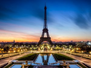 Фотообои Вечерний Париж