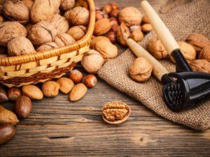 Фотообои Разнообразие орехов