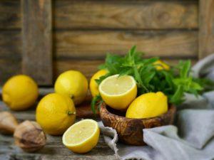 Фотообои Лимон и мята