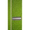 Наклейка на холодильник Травяной фон