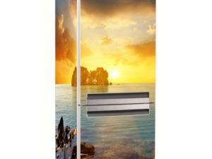 Наклейка на холодильник Волшебный закат