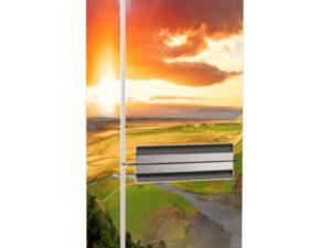 Наклейка на холодильник Красочный закат