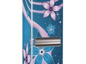 Наклейка на холодильник Волшебные цветы