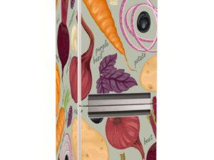 Наклейка на холодильник Овощной набор