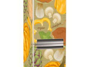 Наклейка на холодильник Дары осени