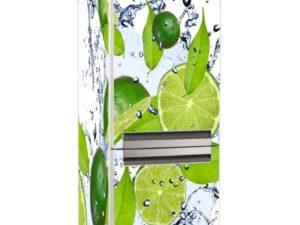 Наклейка на холодильник Свежий лайм