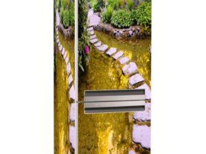 Наклейка на холодильник Дорожка из камней