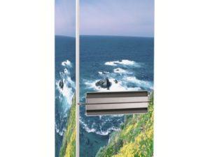 Наклейка на холодильник Вид на море