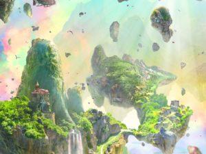 3D Фотообои Волшебный мир
