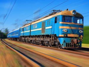 фотообои поезда