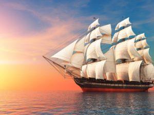 фотообои яхты и корабли